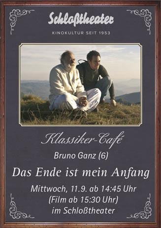 Klassiker-Café: DAS ENDE IST MEIN ANFANG