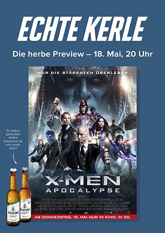 "Echte Kerle ""X-Men: Apocalypse 3D"""