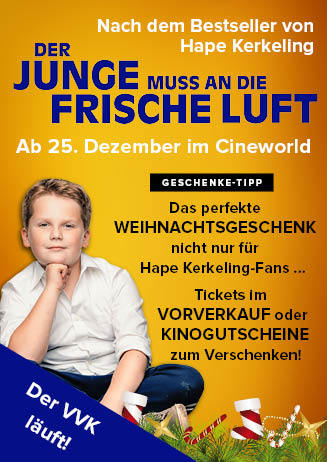 """181225 Filmstart & Geschenkidee """"Der Junge muss..."""""""