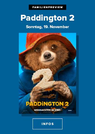 Familien-Preview: Paddington 2