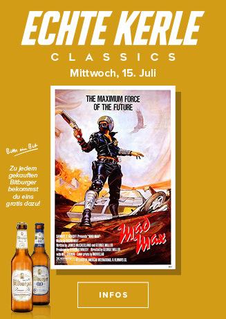 15.07. - Echte Kerle Classics: Mad Max