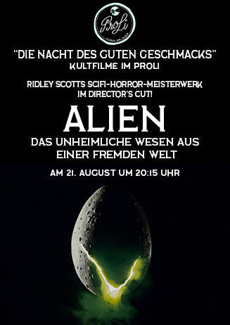 Die Nacht des guten Geschmacks: Alien