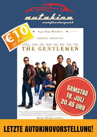 "207018 Autokino ""The Gentlemen"""