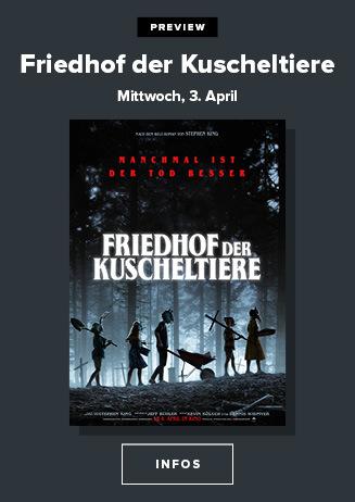 Preview: Mittwoch, 03.04.2019, 20 Uhr: Friedhof der Kuscheltiere