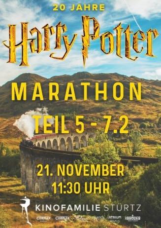 Harry Potter Marathon!