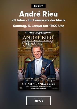 André Rieu: 70 Jahre - Ein Feuerwerk der Musik