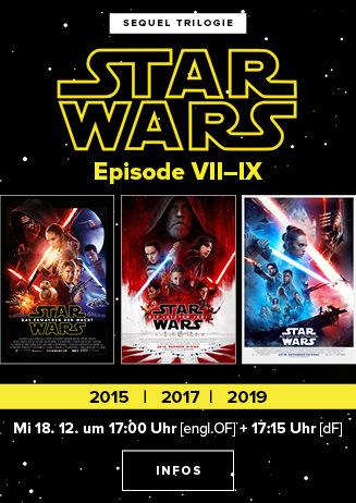 STAR WARS Triple: Episode VII-IV
