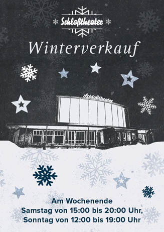 Schloßtheater-Winterverkauf