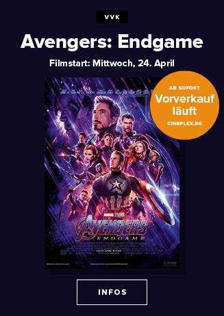 24.01. - Mitternachtspreview: Avengers: Endgame