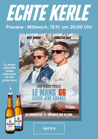 Echte Kerle Preview: Le Mans 66