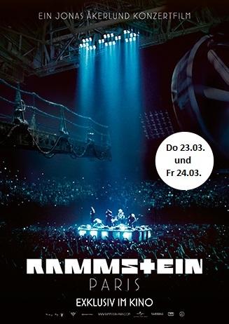 """Sonderveranstaltung: """"Rammstein: Paris"""""""