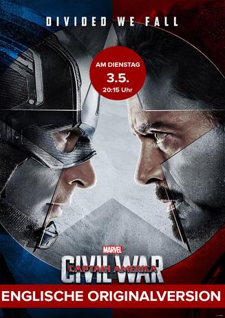 Englische Originalversion: Captain America: Civil War 3D