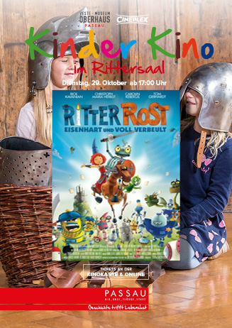 "Kinder Kino im Rittersaal: ""Ritter Rost"""