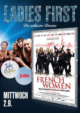 02.09. - Ladies First: French Women - Was Frauen wirklich wollen