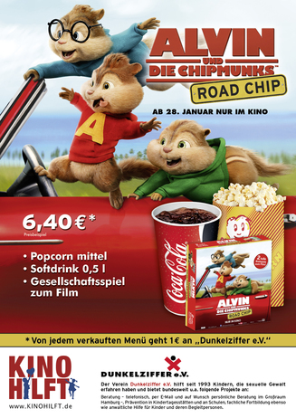 KINO HILFT Concession Menue im Cineplex Bad Kreuznach