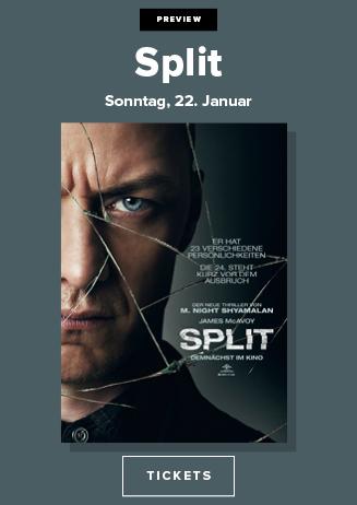 """Vorpremiere """"Split"""""""