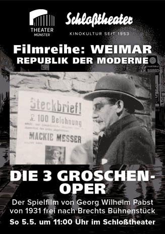 Weimar-Reihe: DIE 3 GROSCHEN-OPER