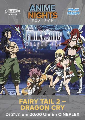 Anime Night: Fairy Tail 2 - Dragon Cry