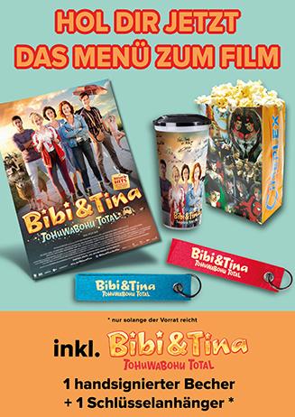 Holt Euch das Bibi + Tina Menü!