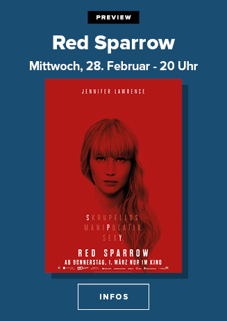 "180228 Preview ""Red Sparrow"""