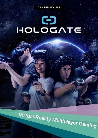 Hologate - die Virtual Reality Experience im Cineplex Goslar