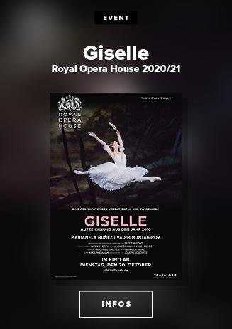 Royal Opera House 2020/21: Giselle 20.10.
