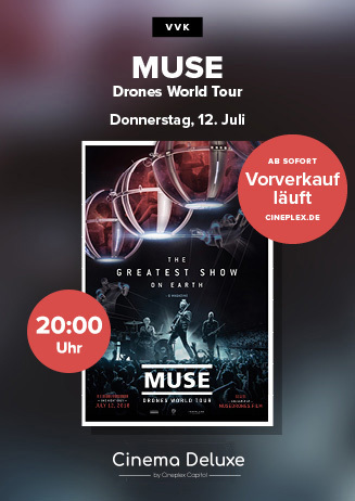 VVK-Start: MUSE Drones World Tour