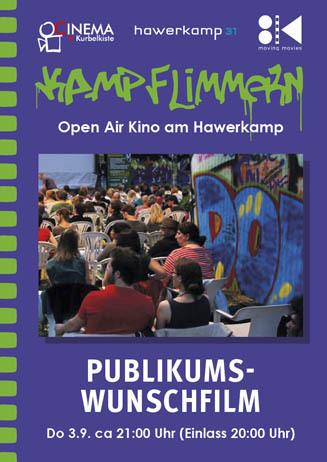 Kamp-Flimmern: PUBLIKUMSWUNSCHFILM