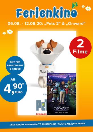 """Ferienkino: """"Pets 2"""" und """"Onward"""""""