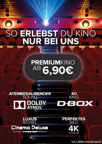 Premiumkino ab 6,90€
