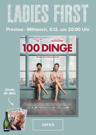 Ladies First: 100 DINGE