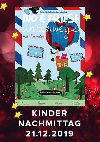 Kindernachmittag im Advent: Mo&Friese unterwegs mit Freunde