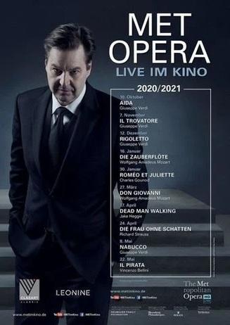 MET Saison 2020/21 mit Verdis AIDA