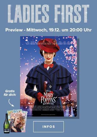 Ladies First: Mary Poppin's Rückkehr