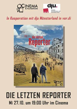 DIE LETZTEN REPORTER mit dju Münsterland