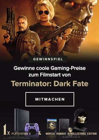 Gewinnspiel zu TERMINATOR: DARK FATE