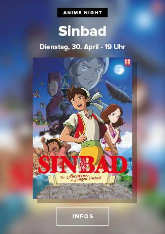"""190430 Anime Night """"Die Abenteuer des jungen Sinbad"""""""