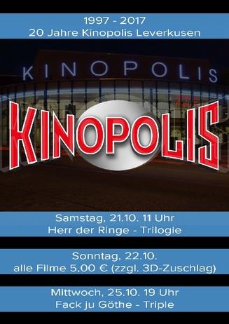 20 Jahre Kinopolis Leverkusen