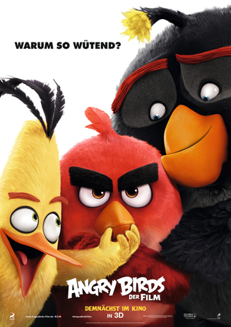 """Walking Act """"Angry Birds"""""""