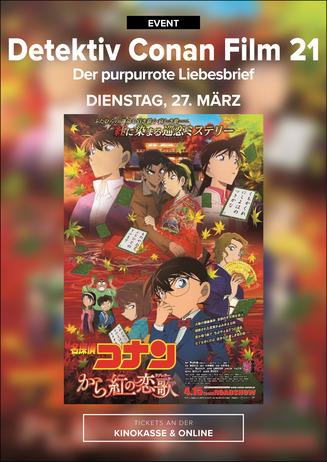 Anime Night 2018: Detektiv Conan - Der purpurrote Liebesbrief