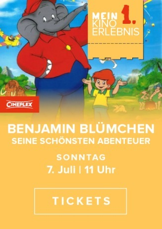 Mein erstes Kinoerlebnis: BENJAMIN BLÜMCHEN