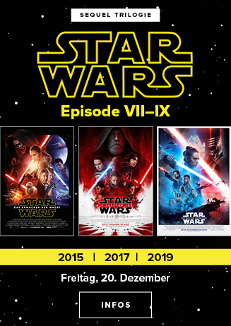 Star Wars Episode VII-IX - NUR am 22.12.2019