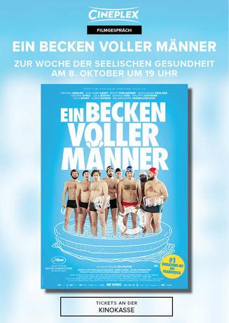 Zur Woche der seelischen Gesundheit: Ein Becken voller Männer