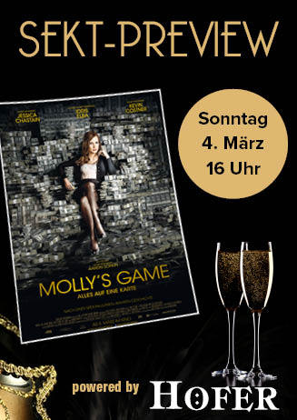 "180304 Sekt-Preview ""Molly's Game"""