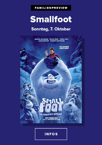 Familienpreview: SMALLFOOT - 3D