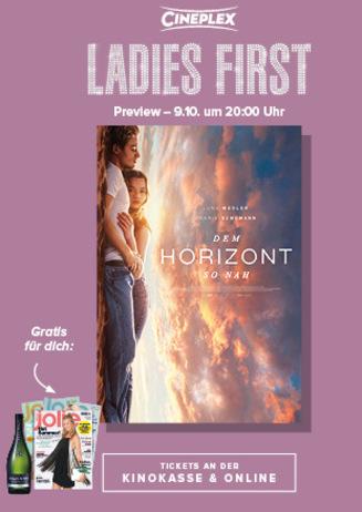 Ladies First: Dem Horizont so nah