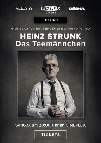 Lesung Heinz Strunk