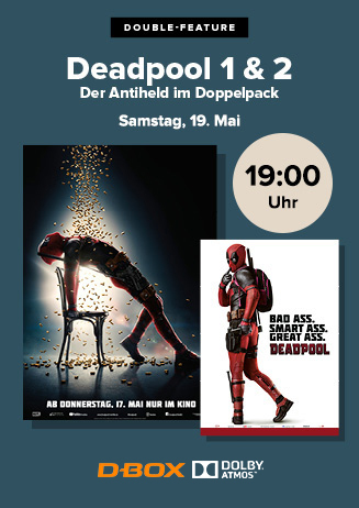 Double Feature: Deadpool 1 & 2