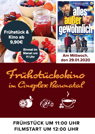 """Frühstückskino: """"Alles außer gewöhnlich"""""""