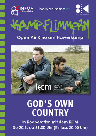 Kamp-Flimmern: GOD'S OWN COUNTRY